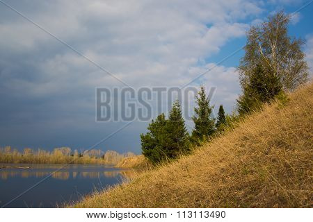 Steep Slope On The River