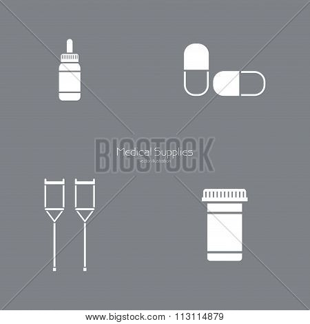 Medical Silhoutte Objects