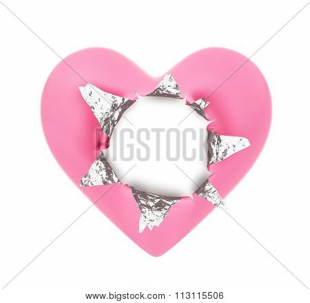 Heart Shape Foil Wrapper
