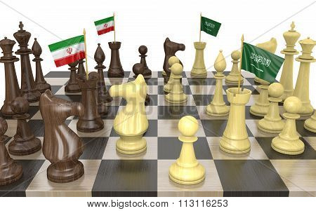 Iran and Saudi Arabia foreign policy strategy and power struggle