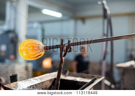 Handmade Figures Of Melted Glass