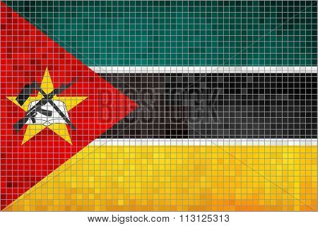 Flag Of Mozambique.eps
