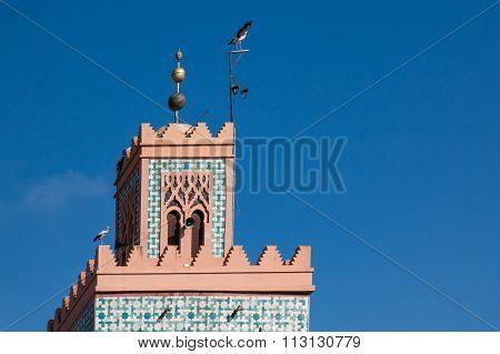 Tower Of A Mosque, Marrakesh, Morocco
