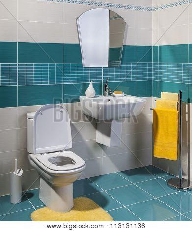 Cozy Modern Bathroom