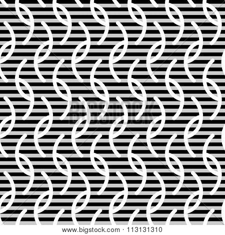 Wavy Stripes Seamless Pattern