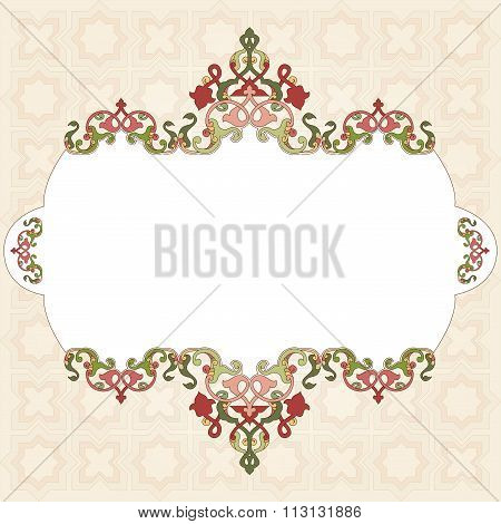 Antique Ottoman Borders And Frames Series