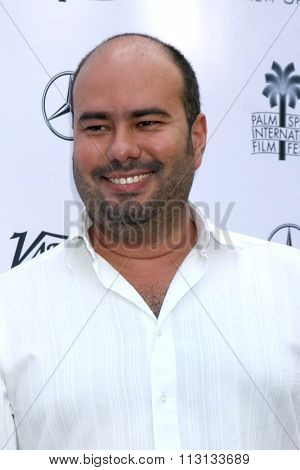 PALM SPRINGS - JAN 3:  Ciro Guerra at the Variety Creative Impact Awards And 10 Directors To Watch Brunch at the The Parker Hotel on January 3, 2016 in Palm Springs, CA