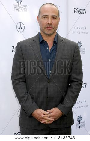 PALM SPRINGS - JAN 3:  Peter Landesman at the Variety Creative Impact Awards And 10 Directors To Watch Brunch at the The Parker Hotel on January 3, 2016 in Palm Springs, CA