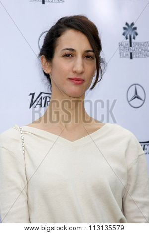 PALM SPRINGS - JAN 3:  Deniz Gamze Erguven at the Variety Creative Impact Awards And 10 Directors To Watch Brunch at the The Parker Hotel on January 3, 2016 in Palm Springs, CA