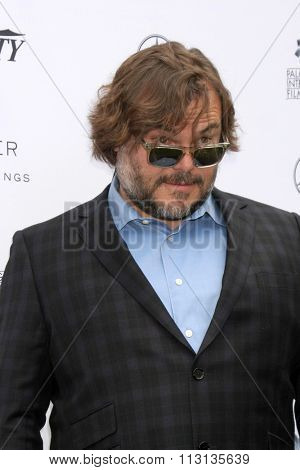 PALM SPRINGS - JAN 3:  Jack Black at the Variety Creative Impact Awards And 10 Directors To Watch Brunch at the The Parker Hotel on January 3, 2016 in Palm Springs, CA