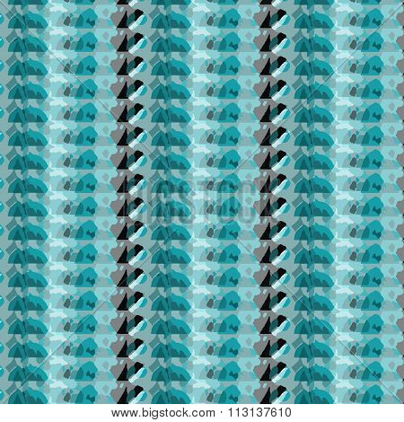 Shades Of Blue And Black Color Pattern