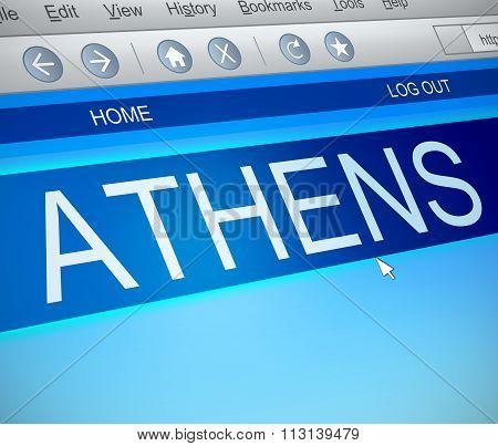 Athens Concept.