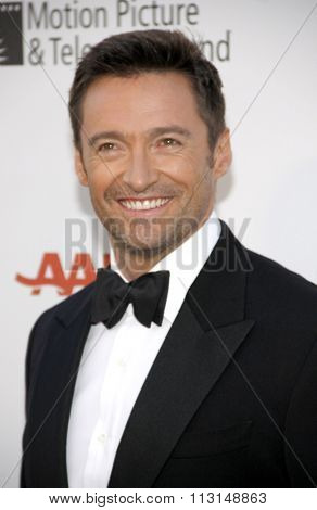 HOLLYWOOD, CALIFORNIA - May 1, 2010. Hugh Jackman at the 5th Annual