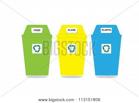 Recycle Bin Trash And Garbage Icon