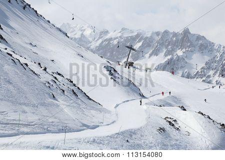 France Ski Run