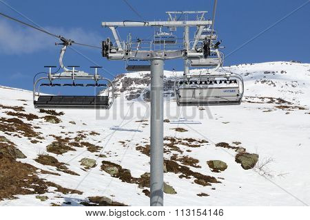 Chairlift In France