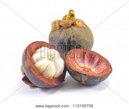 Tropical Mangosteen Fruit