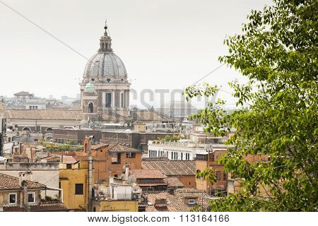 View Of Rome From Above