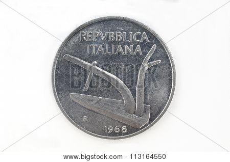 Italian Currency 1968