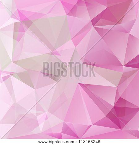 pink gray polygonal background