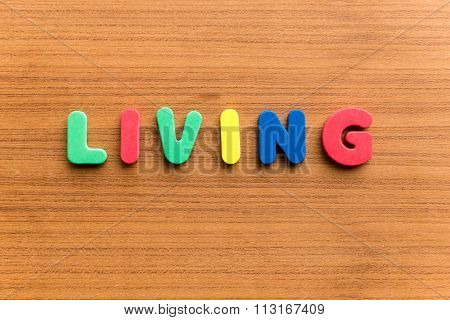 Living  Colorful Word