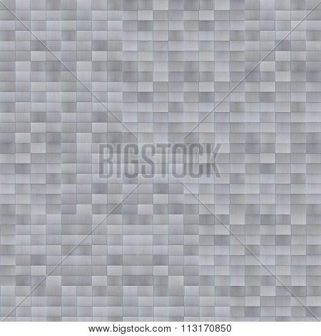 Futuristic Metal Brick Texture