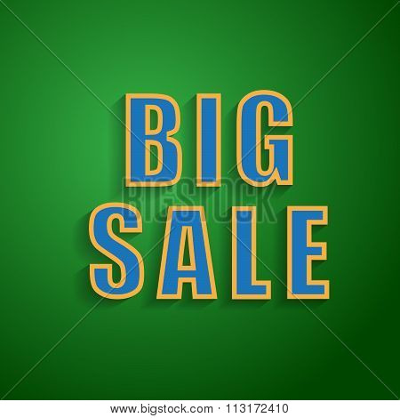 Big Sale  background for your promotional posters, advertising shopping, discount banners.