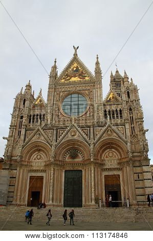 Siena Cathedral. Siena, Italy