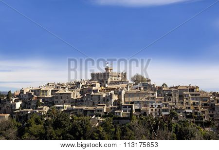 View of Cagnes Sur Mer, France
