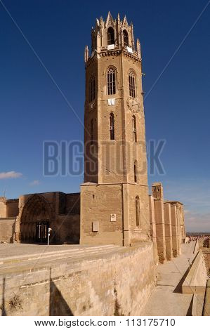 Cathedral Of Lleida.catalonia,spain