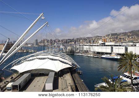 View of Genoa, Italy