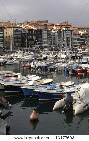 Port Of Lekeito, Basque Country, Spain