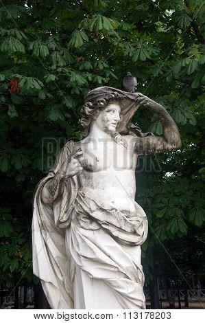 art in Tuileries garden,Paris,France.