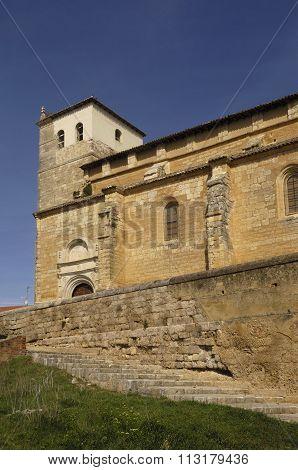 Santa Maria Del Castillo, Church, Fromista, Palencia,