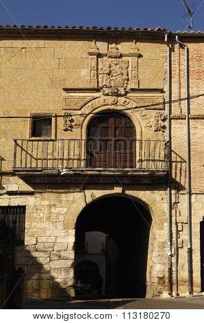 Medieval Door In Toro,castilla Y Leon, Zamora Province,
