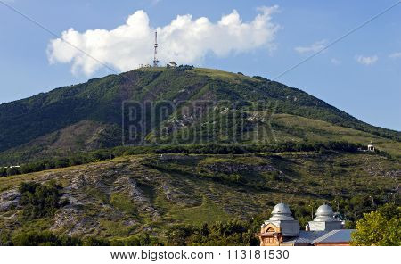 View Of The Majestic Mount Mashuk From Pyatigorsk
