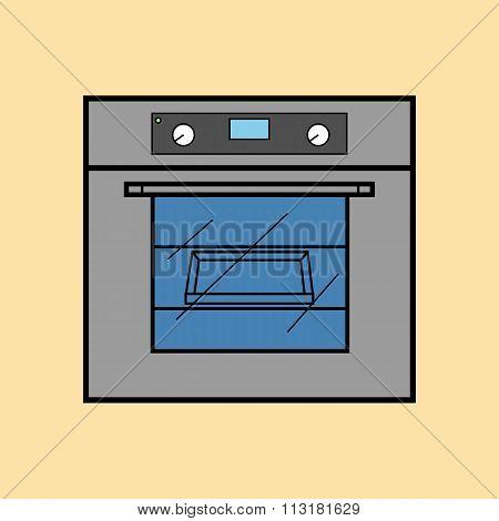 Oven Icon Vector