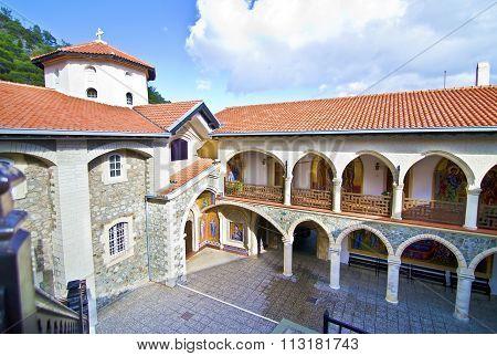 Kykkos monastery in Cyprus