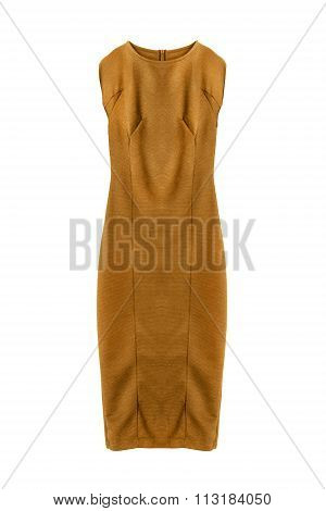 Yellow Dress Isolated