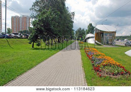 Passenger elevators metro station Troparevo