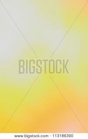 Yellow and White Abstract Background