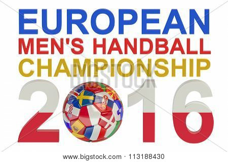 2016 European Men's Handball Championship Concept