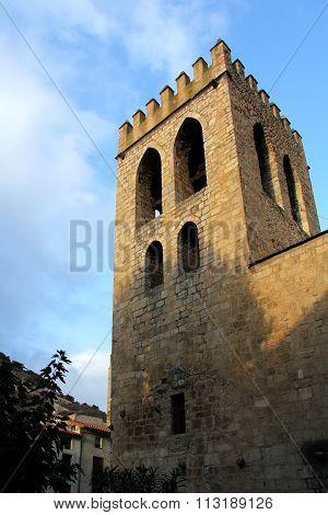 Sant Jaume Church, Villefranche De Conflent, Languedoc-roussillon, France