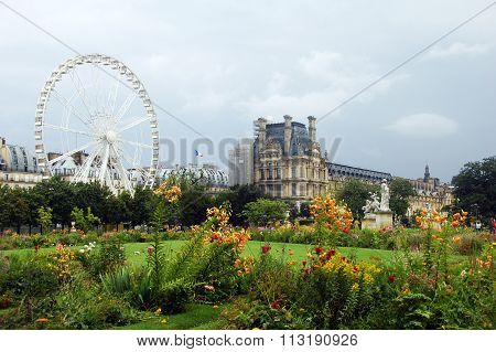 ferris wheel,Paris,France.