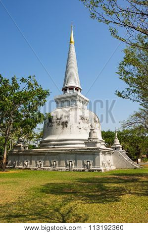 Stupa In Ancient Siam