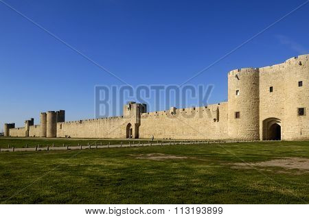 Fort Of Aigues-mortes, Camargue, France