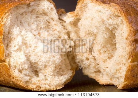 White Wheat Bread With Bran