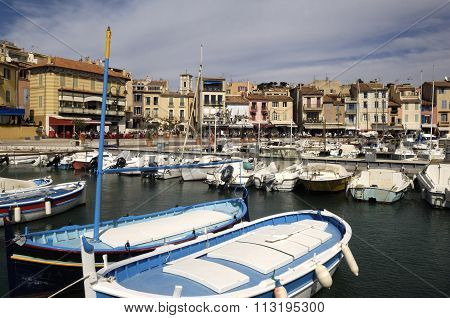 Port Of Cassis, French Riviera, France