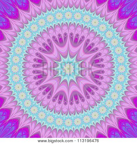 Girly mandala - abstract oriental design background