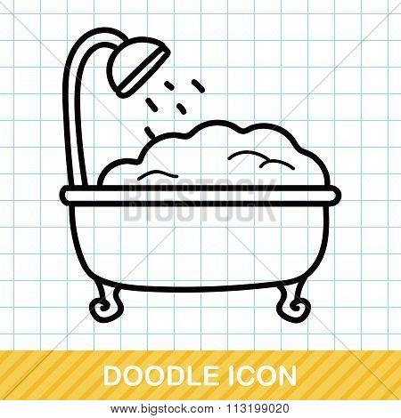 Bathtub Doodle